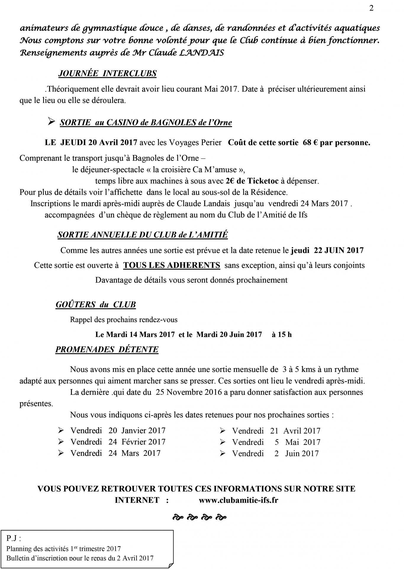 Bulletin janvier 2017 n 2 2
